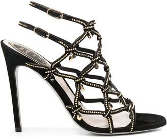 Rene Caovilla Strappy Stiletto Sandals