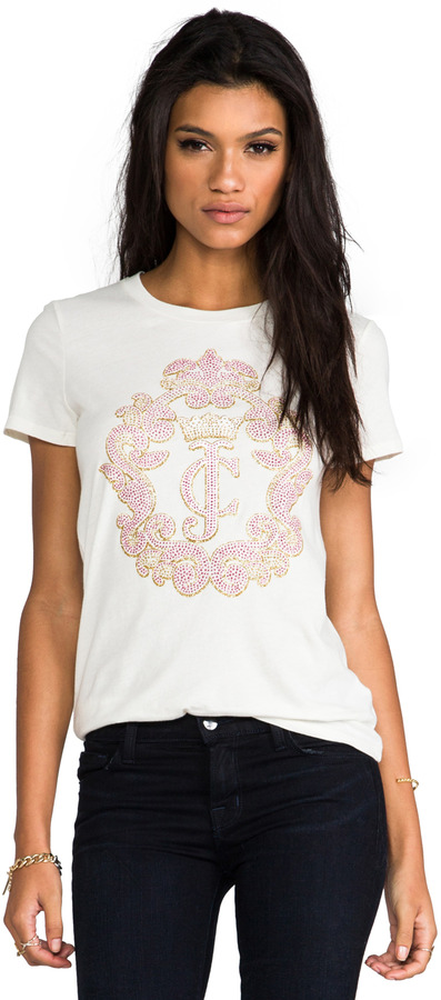 Juicy Couture Crown Cameo Top