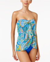 Lauren Ralph Lauren Carnivale Paisley Flyaway One-Piece Swimsuit
