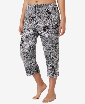Ellen Tracy Plus Size Yours to Love Capri Pajama Pants