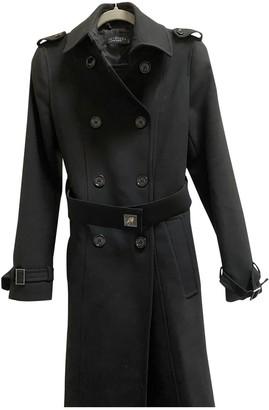 Twin-Set Twin Set Black Coat for Women