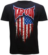 Tapout USA Global Collection Adult T-shirt (Large, Black)