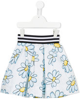 MonnaLisa floral print skirt - kids - Cotton/Polyamide - 2 yrs