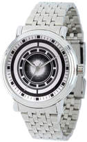Marvel Avengers Mens Silver Tone Strap Watch-Wma000203