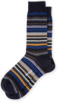 Pantherella Quaker Stripe Dress Socks