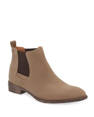 Robert Wayne Men's Oklahoma Suede Chelsea Boots