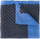 Pal Zileri floral print scarf - men - Silk/Cashmere/Wool - One Size