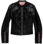 Blumarine Embellished Leather Jacket