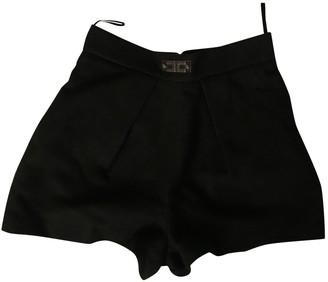 Elisabetta Franchi Black Shorts for Women