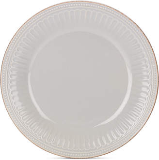Lenox Stoneware French Perle Groove Dove Grey Dinner Plate
