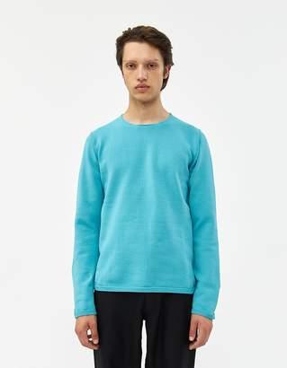 Comme des Garcons Knit Crewneck Sweater in Blue