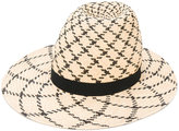 Henrik Vibskov Big Shady hat - women - Straw - 57