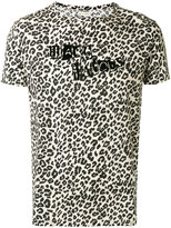 Marc Jacobs logo leopard print T-shirt - men - Cotton - M