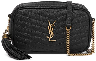 Saint Laurent Lou Mini leather crossbody bag