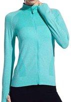 Hengshitong Sports Long Sleeve Yoga T-shirt Running Fitness Jacket