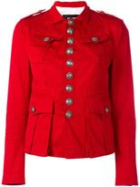 DSQUARED2 Livery Tenant military jacket - women - Cotton/Spandex/Elastane - 38