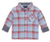 Andy & Evan Toddler's, Little Boy's & Boy's Flannel Button-Down Shirt