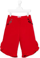 MSGM jappo ottoman trousers - kids - Cotton/Polyester - 8 yrs