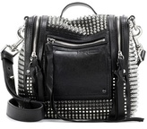 McQ by Alexander McQueen Embellished leather shoulder bag