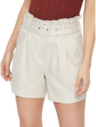 Vero Moda Gally High-Waist Belted Shorts