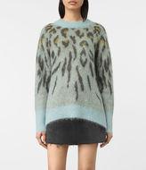 AllSaints Arley Animal Sweater
