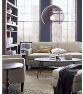 Crate & Barrel Vaughn Apartment Sofa