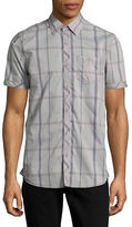 Point Zero Dobby Check Sport Shirt