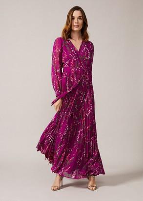 Phase Eight Carmen Pleated Maxi Dress
