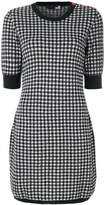 Love Moschino knitted gingham dress
