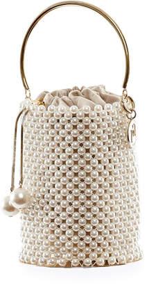 Rosantica Febe Pearl Minaudiere Bag