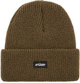 Stussy Watch Cap Beanie in Army.
