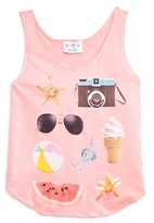 Wildfox Couture Girls' Beach Tank, Big Kid - 100% Exclusive