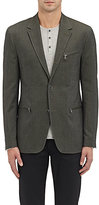 John Varvatos Men's Thompson Cotton Three-Button Sportcoat