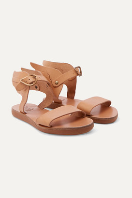Ancient Greek Sandals Kids - Little Ikaria Leather Sandals - Beige
