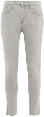 Rag & Bone Burmese Frayed Mid-rise Skinny Jeans