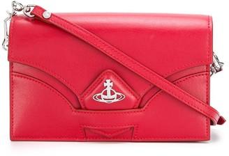 Vivienne Westwood Orb-plaque cross-body bag