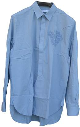 Givenchy Blue Cotton Shirts