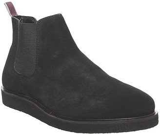 Office Barnaby Chelsea Boots Black Suede
