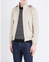 Sandro Stand collar cotton jacket