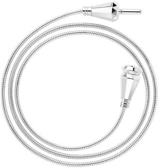 Boucheron Jack de 18K White Gold Triple-Wrap Cable Bracelet/Necklace