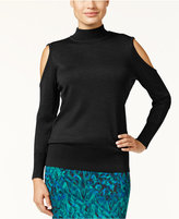 Thalia Sodi Cold-Shoulder Sweater, Only at Macy's