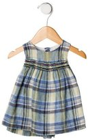 Bonpoint Girls' Plaid Linen Dress