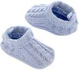 Carter's Baby Boy Cable-Knit Slippers