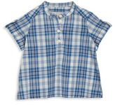 Bonpoint Baby's Plaid Patterned Shirt