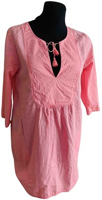 Peak Performance Pink Cotton Top for Women