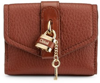Chloé Mini Aby Leather Wallet