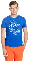 Polo Ralph Lauren Graphic T-shirt, Deep Royal