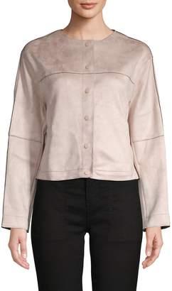Catherine Malandrino Faux Leather Jacket