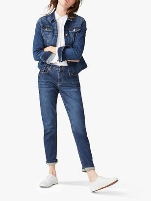 White Stuff Boyfriend Jeans, Blue Denim