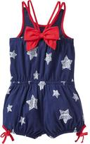 Old Navy Printed Bow-Tie Rompers for Baby
